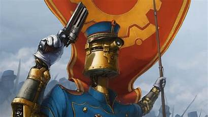 Steampunk Robot Police Uniform Knight Wallpapers Px