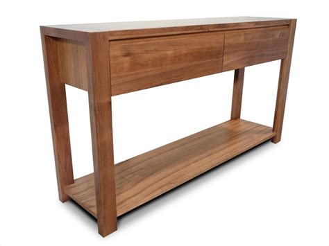lumino tasmanian blackwood  drawer hall table living