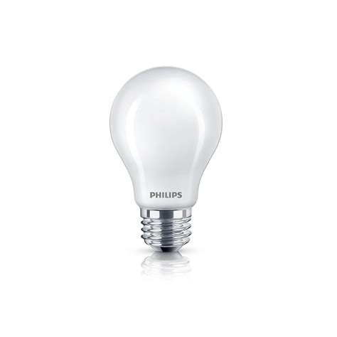 philips 60w equivalent soft white frosted glass energy