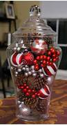Creativity With Plastic Wrap A Snowy Christmas Centerpiece  Big Red Kitchen