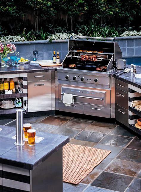 mahogany kitchen island outdoor kitchen designing the backyard cooking