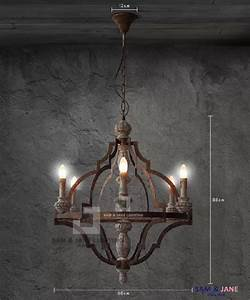 Rustic led ceiling lights : New black iron rustic chandelier ceiling fixture