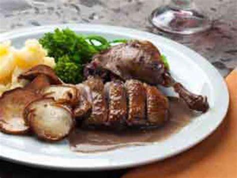 cuisiner canard sauvage recettes de polenta et canard