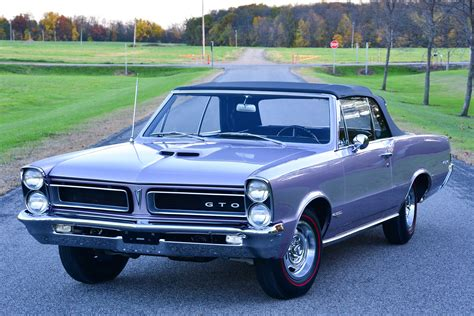 Super-rare 1965 Pontiac Gto Convertible Deserves Its