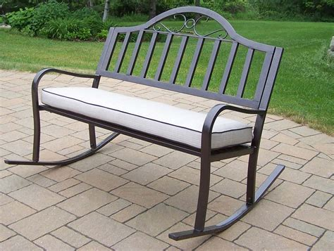 Rochester Tubular Iron Rocking Bench With Wooden Bench Seat With Storage Press Wheelie Tufted Banquette Cusion Ikea Cushion Wood And Leather Black Outdoor What Angle For Incline