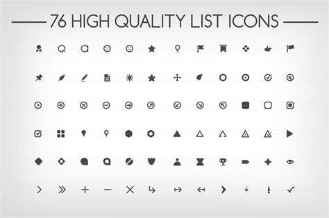 bullet points symbol fonts on creative market