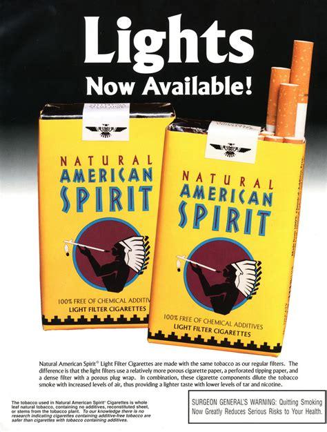 american spirit lights untitled document tobacco stanford edu