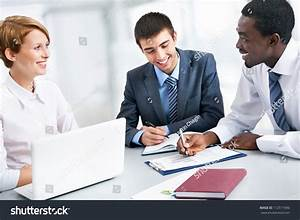 Business Group Meeting Portrait Business People Stock ...