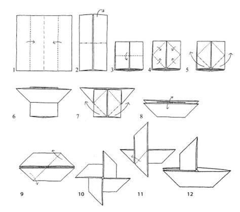 Catamaran Boat Origami by Traditional Origami Magic Boat