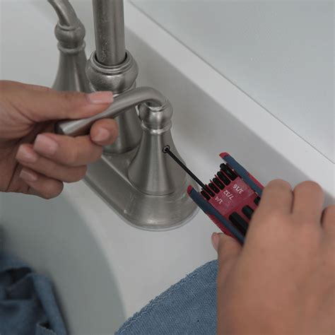 fix a kitchen faucet repair a leaky two handled faucet