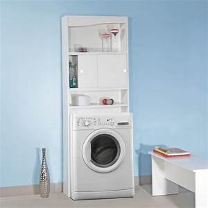 Meuble Pour Machine À Laver : galet meuble wc machine a laver blanc 1301634 salle ~ Dode.kayakingforconservation.com Idées de Décoration