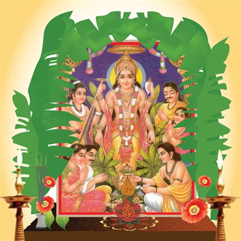 satyanarayan puja vidhi  samagri hindu festivals