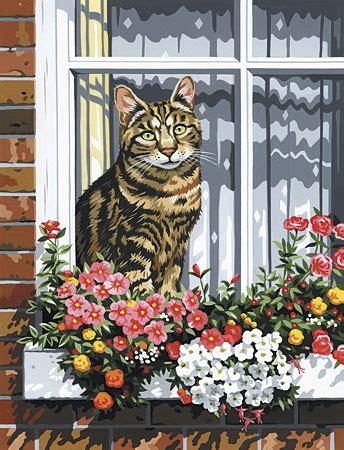 Katze Im Fensterbrett Von Sonstiger Hersteller (pcs11