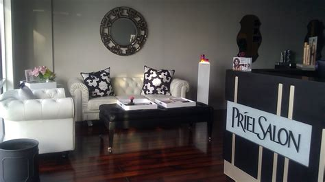 priel salon waiting area front desk www prielsalon