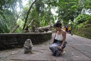 monkey forest ubud bali  service