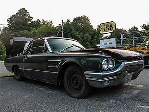 Barn Find  Black 1965 Ford T-bird Could Use Some Serious Tlc