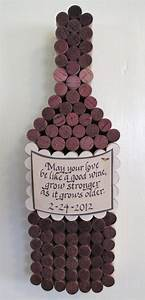 Corks from wine served at your wedding. | Crafts | Pinterest