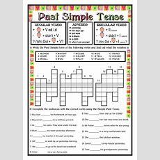 Past Simple Tense Past Simple Worksheet