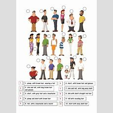 Describe People  Interactive Worksheet
