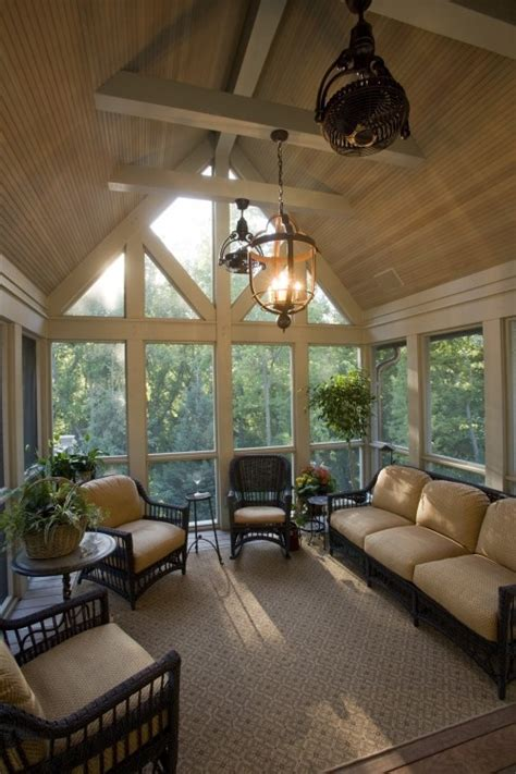 back porch lighting ideas 28 dreamy attic sunroom design ideas digsdigs