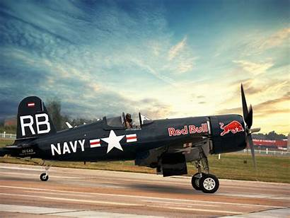 Corsair F4u Bull Vought War 4k Flying