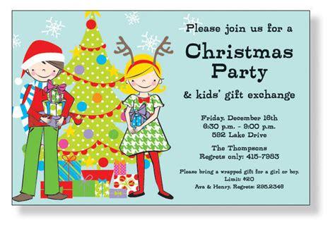 kids christmas party invitations invitations cimvitation