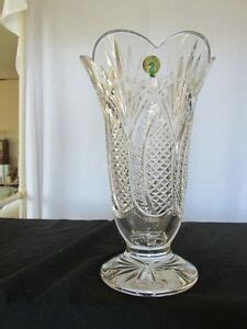 Waterford Seahorse Vase by Waterford Quot Seahorse Quot Vase 10in Made In Ireland Ebay