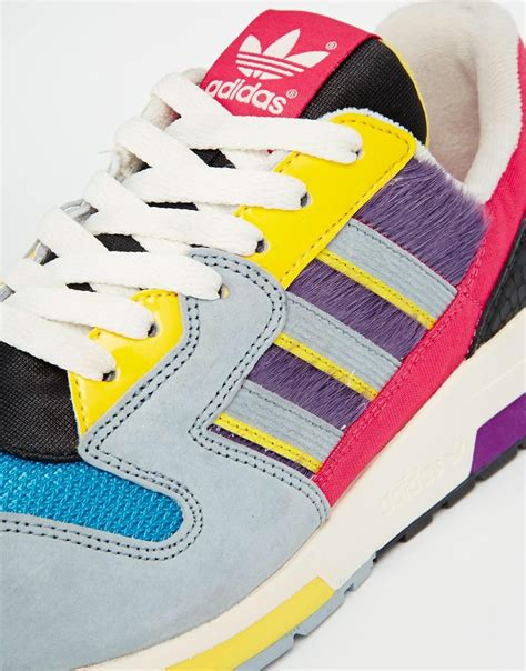 multi colored adidas lyst adidas zx 420 multi colored sneakers