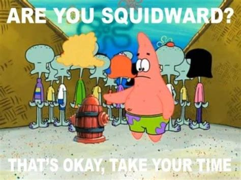 Another Stupid Question Patrick Has To Ask.