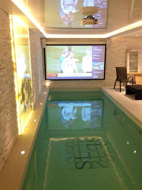 luxury basement pool  london piscine interieure