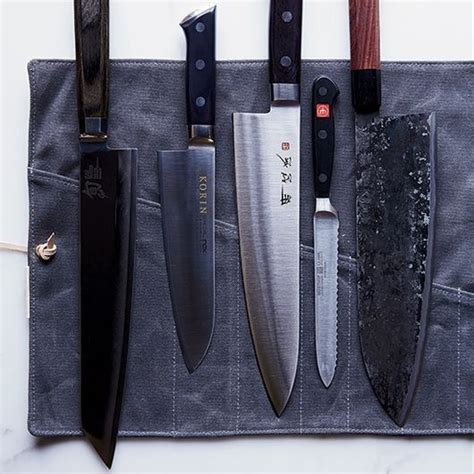 knives kitchen chef knife chefs japanese without food wine foodandwine while tools cooking cutlery belt very better am sets tricks