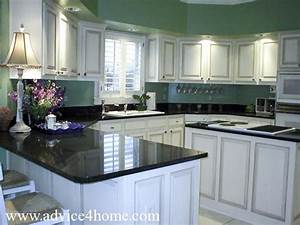 white washed cabinets design and green wall and dramatic With kitchen designs with white cabinets and black countertops