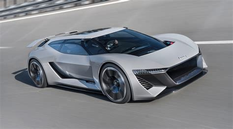 High Performance Audi Pb18 E-tron Concept Car Revealed