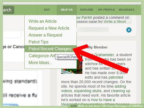 How To Get More Talk Page Messages On Wikihow 10 Steps