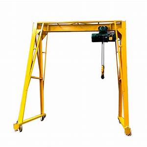 Wholesale Simple Gantry Crane Factory And Manufacturers