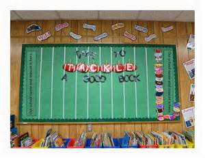 Football Reading Bulletin Board Ideas