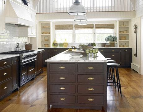 kitchen cabinet pulls brushed nickel drawer placement black brown kitchen cabinets cottage kitchen benjamin