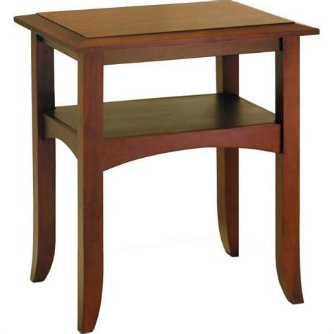 Winsome Pine Wood Antique Walnut End Table  Ebay. Wooden Desk. Bench Depth. Ceiling Mount Curtain Track. Gonzalez Furniture. Shabby Chic Bedroom. Zz.com. Unilock Pavers. Ventura Homes