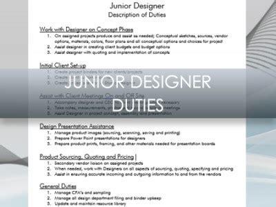 interior design description interior design business junior designer description