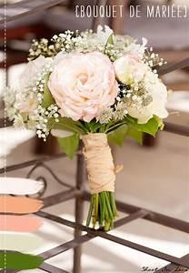 Bouquet Fleur Mariage : palette de couleurs bouquet de mariee la mariee aux pieds ~ Premium-room.com Idées de Décoration