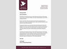 Customize 38+ Church Letterhead templates online Canva