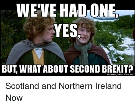 What About Meme - yes but what about second brexit memegeneratornet scotland and northern ireland now ireland