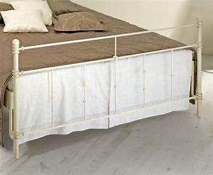 Bett Mit Hohem Fußteil : doppelbett aus metall 180x200 in komforth he astara ~ Bigdaddyawards.com Haus und Dekorationen