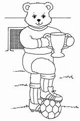 Trophy Coloring Competition Soccer Pages Mr Truck Bear Cup Printable Template Drawing Getcoloringpages Fifa sketch template