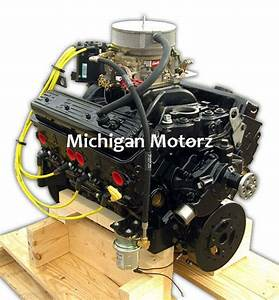 5 7l Vortec Marine Silver Engine Package - 315 Hp