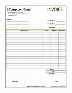Invoice template maker denryokuinfo for Invoice template maker