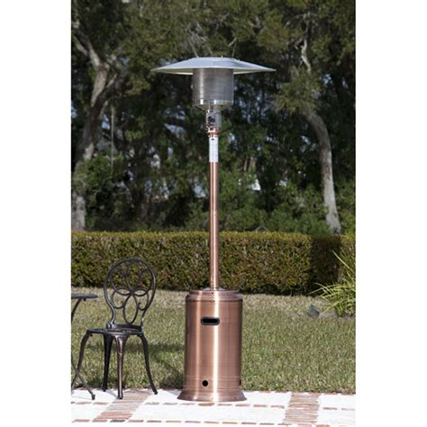sense copper commercial patio heater 177149