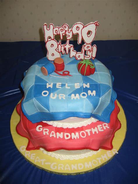birthday quilt cake cakecentralcom