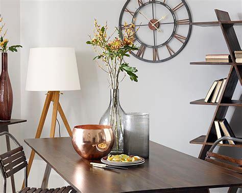 Large Metal Wall Clock Home Accessories Living Room Clocks