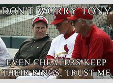St Louis Cardinals Hacking Meme, Bill Belichick Meme